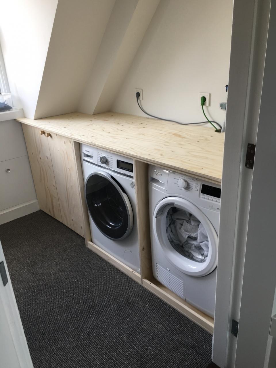 Ombouw Wasmachine En Droger Haarlem